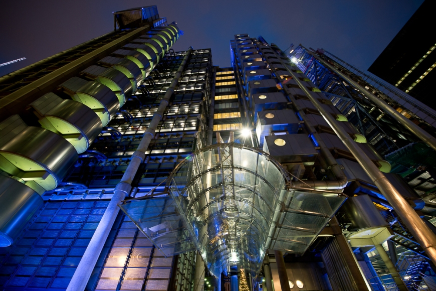 Lloyds Building, London, England