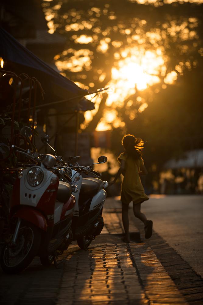 Soulignavongsa (Street), Luang Prabang, Laos, Indochina, Asia