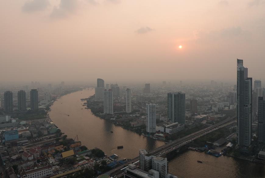 View from The Skybar, Lebua, Bangkok, Thailand