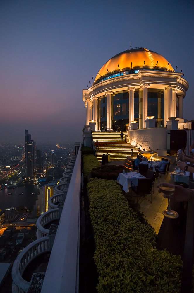 View from The Skybar, The Dome at Lebua, Bangkok, Thailand
