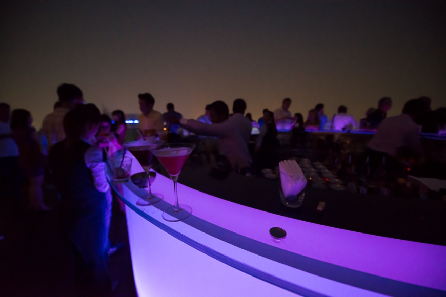 The Skybar, The Dome at Lebua, Bangkok, Thailand