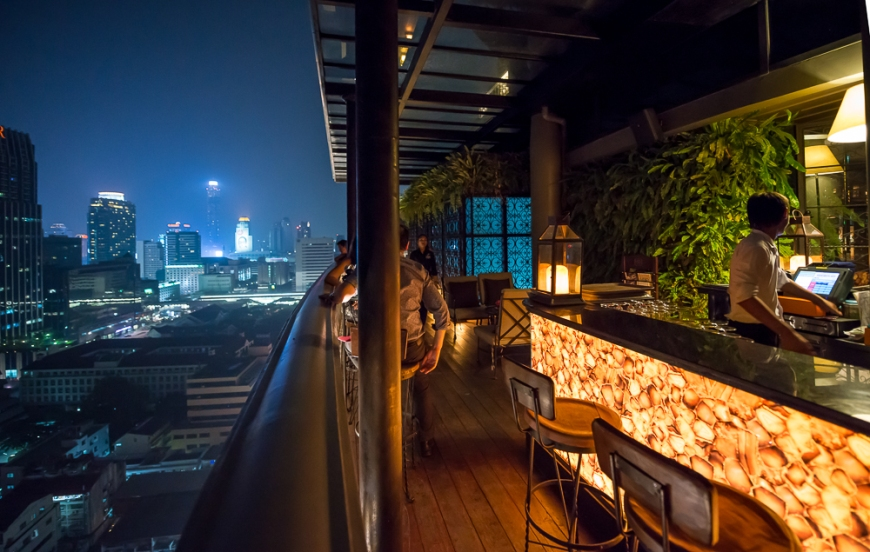 'The Speakeasy' Muse Hotel Bar, Bangkok, Thailand
