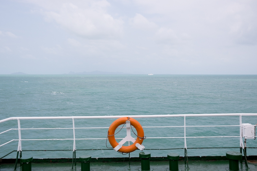 Ferry to Ko Samui, Surat Thani, Thailand