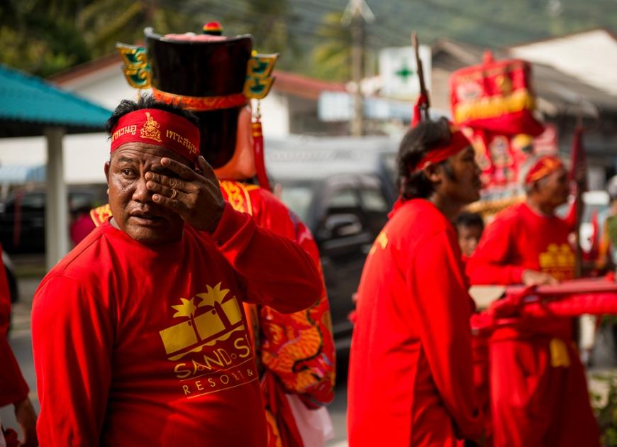 Chinese New Year Festival, Ko Samui Island, Surat Thani, Thailand