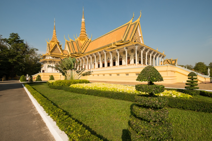 Throne Hall, Royal Palace, Phnom Penh, Cambodia