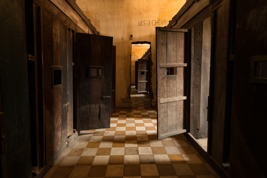 Former Prison Cell, Tuol Sieng Museum, Phnom Penh, Cambodia