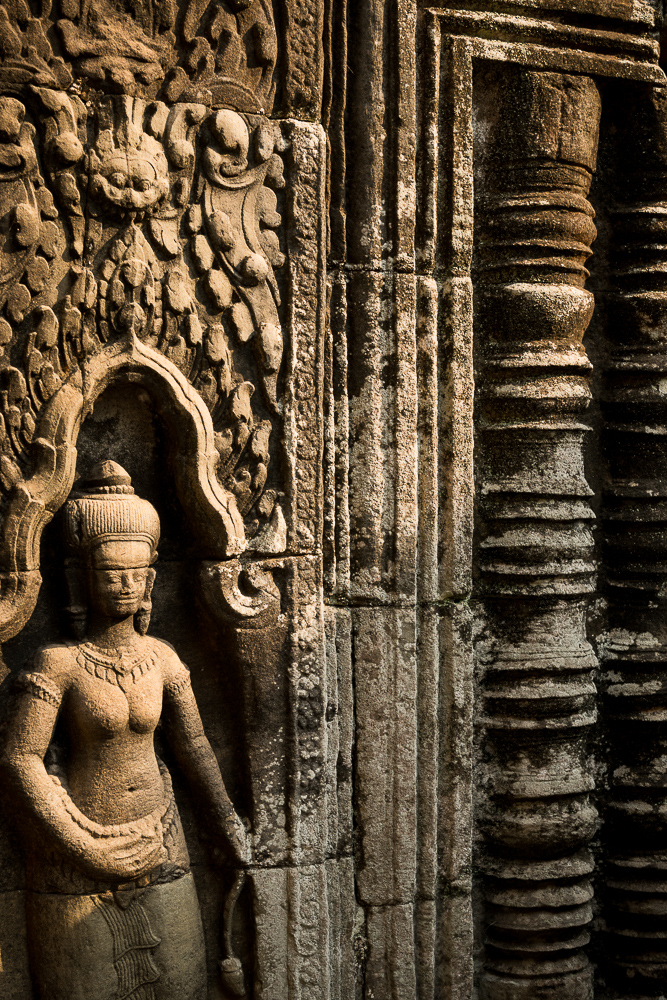 Temple of Banteay Kdei, Angkor, Siem Reap, Cambodia