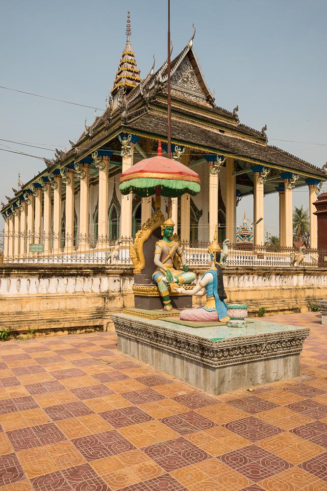 Wat Damrey Sar, Battambang, Battambang Province, Cambodia, Indochina, Asia