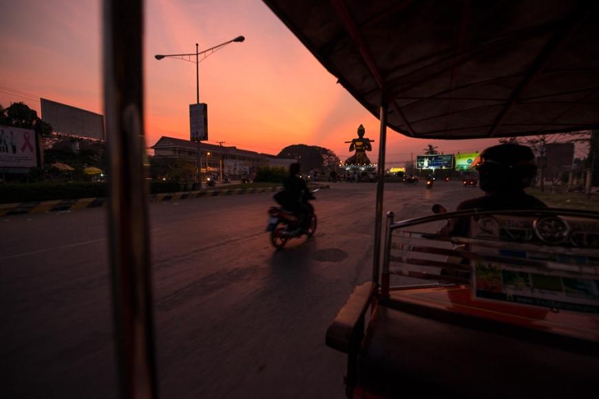 Battambang, Battambang Province, Cambodia, Indochina, Asia
