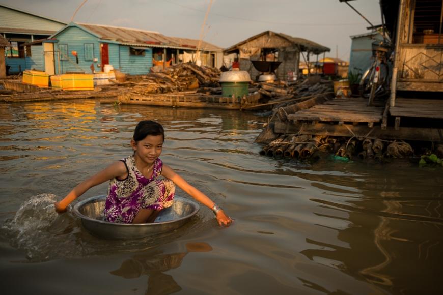Floating Villages of Phoum Kandal, Kompong Chnang, Cambodia, Indochina, Asia