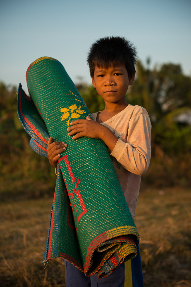 Portrait of Child, Fields near Kampot, Cambodia, Indochina, Asia