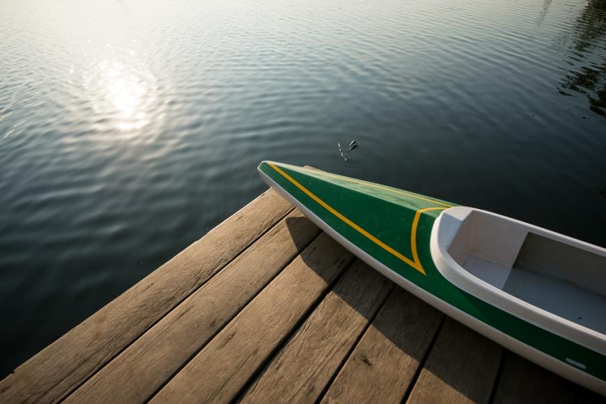 Kayak, Kampong Bay River, Kampot, Cambodia, Indochina, Asia