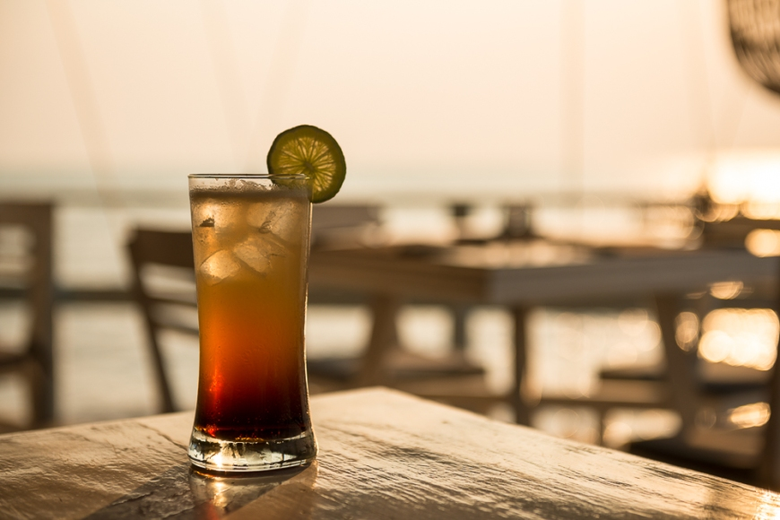 Long Island Iced Tea, Sailing Club, Kep, Kep Province, Cambodia, Indochina, Asia