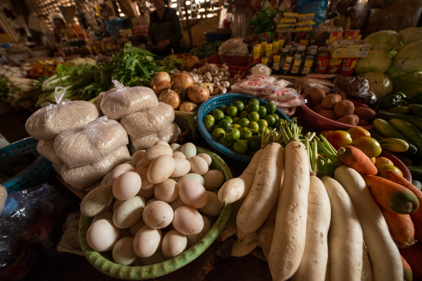 Sassor Market, Kep, Kep Province, Cambodia, Indochina, Asia