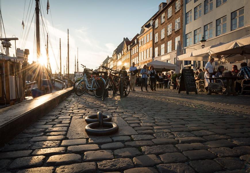Nyhavn Harbour, Copenhagen, Denmark