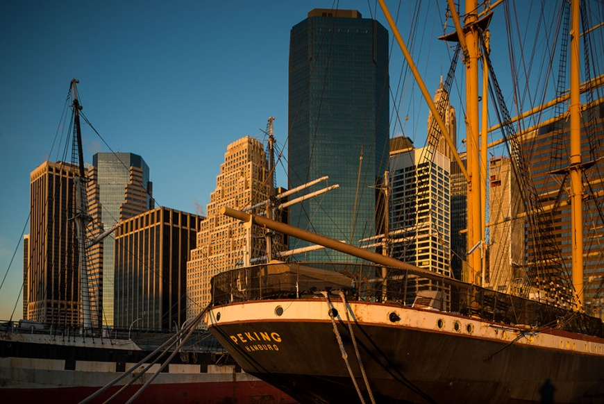 South Street Seaport, Downtown Manhattan, New York, USA