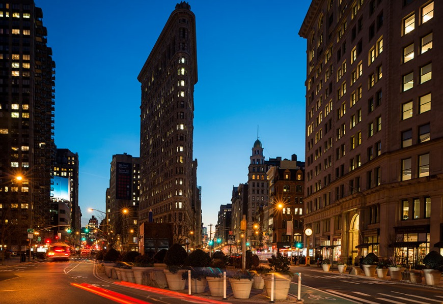 The Flatiron Building, Manhattan, New York, USA
