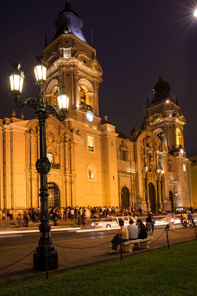 La Catedral de Lima, Plaza de Armas, Lima, Peru