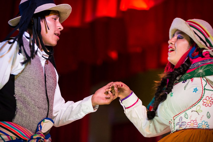 Cultural Performance, Centro Qosqo de Arte Nativo, Cusco, Peru