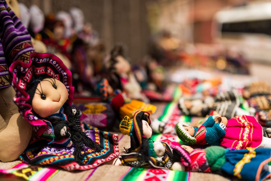 Paint dyes, Pisac Textiles Market, Sacred Valley, Peru