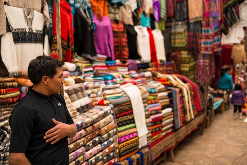 Pisac Textiles Market, Sacred Valley, Peru