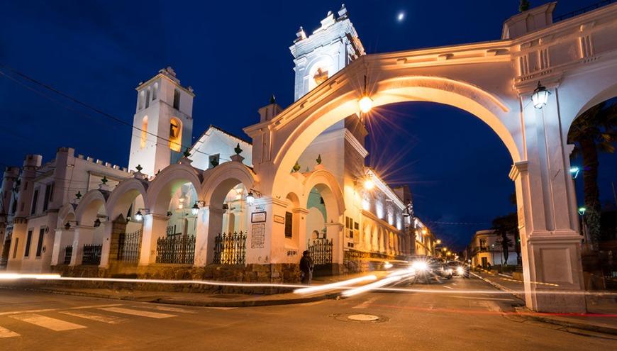 Iglesia de San Francisco, Sucre, Bolivia