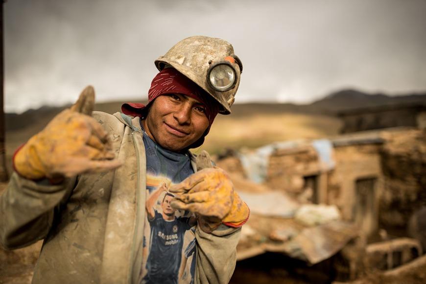 Portrait of Luiz, The Mines of Cerro Rico, Potosi, Southern Altiplano, Bolivia