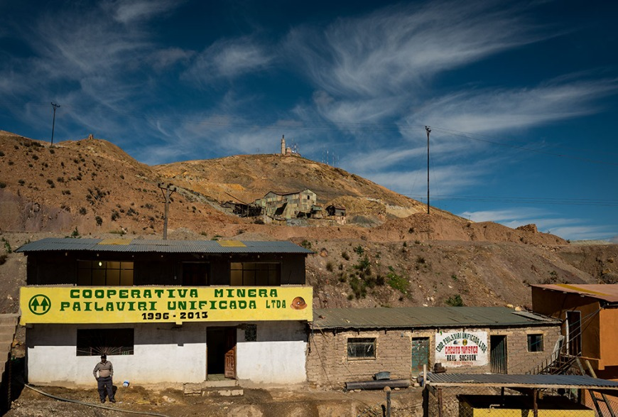 Cerro Rico, Potosi, Southern Altiplano, Bolivia