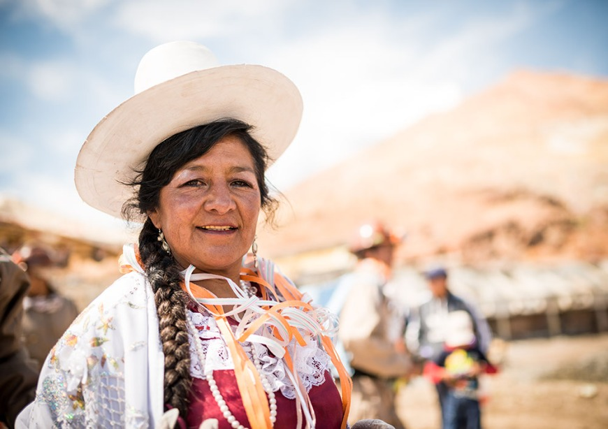 Processions during The Miners Carnival, Cerro Rico, Potosi, Southern Altiplano, Bolivia