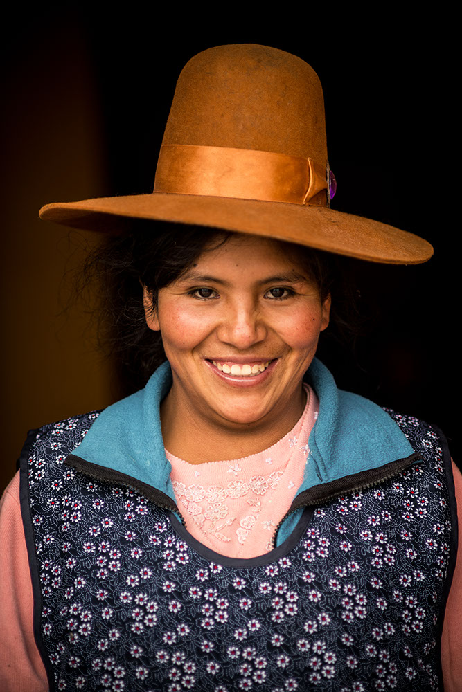 Portrait of Hilda, Cabanaconde, Colca Canyon, Peru