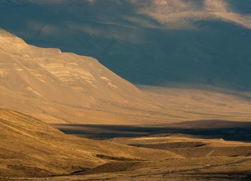 Landscape near El Chaltén, Santa Cruz Province, Argentina
