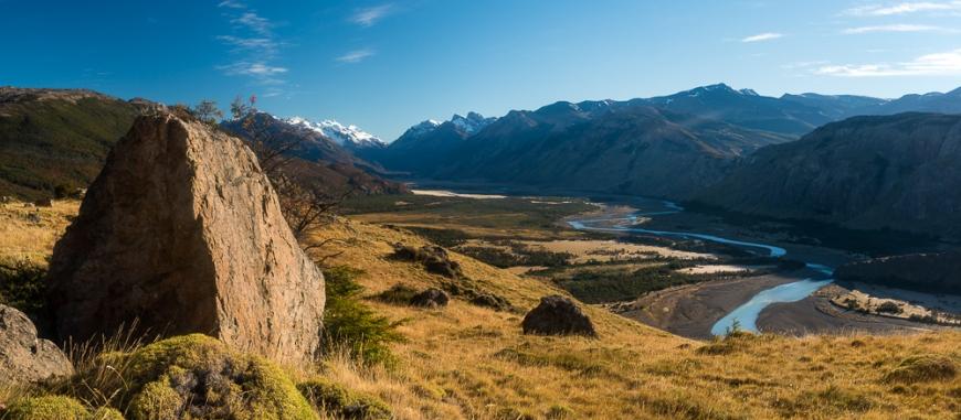 Path to Mount Fitz Roy, El Chaltén, Los Glaciares National Park, Santa Cruz Province, Argentina