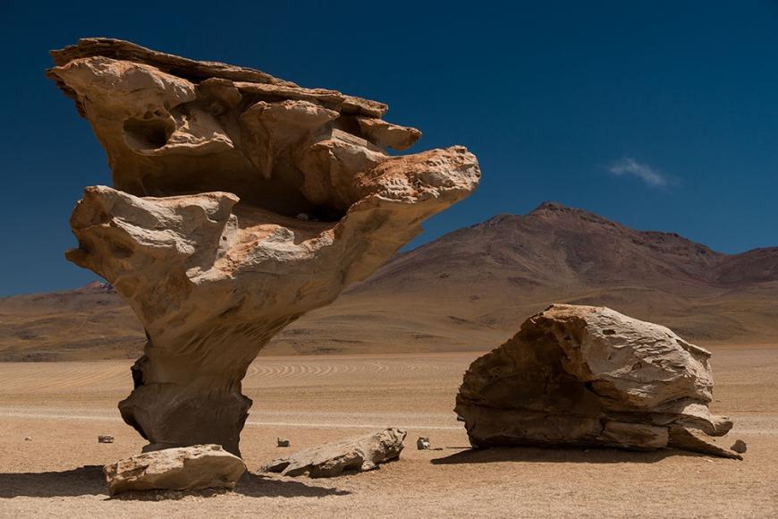 Arbol de Piedra, Southern Altiplano, Bolivia
