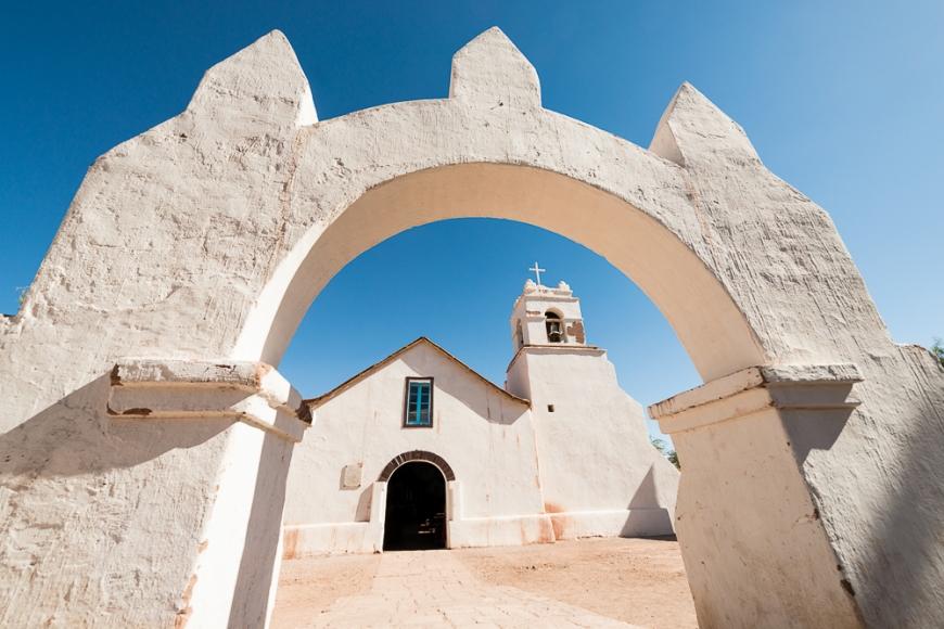 Iglesia de San Pedro, San Pedro de Atacama, Atacama Desert, El Norte Grande, Chile