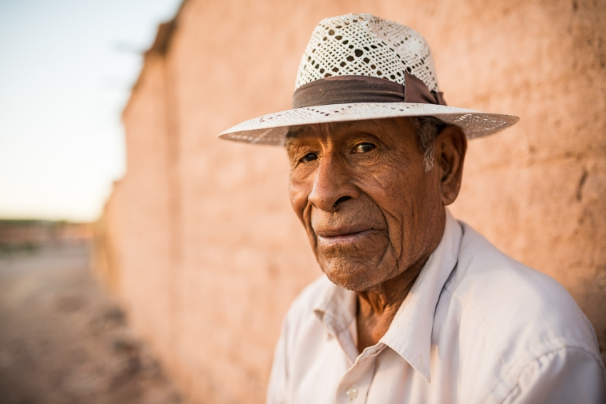 Portrait of Wenceslao, San Pedro de Atacama, El Norte Grande, Chile