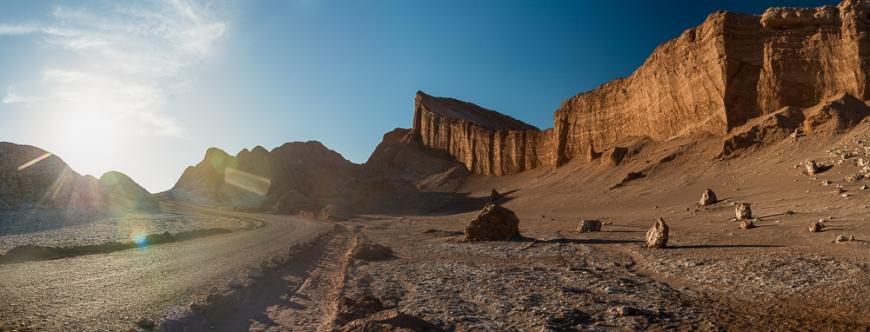 Valle de la Luna (Valley of the Moon), Atacama Desert, El Norte Grande, Chile