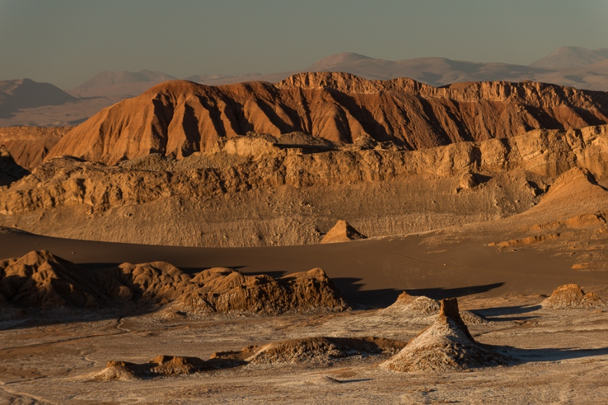 Valle de la Luna (Valley of the Moon), Atacama Desert, El Norte Grande, Chile