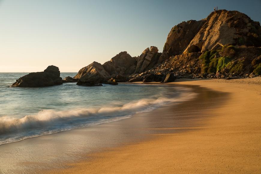 Playa Los Marineros, Viña del Mar, Central Coast, Chile