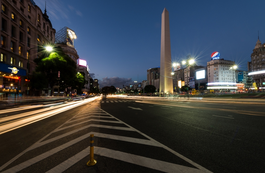 Obelisco, Plaza de la República, Buenos Aires, Argentina