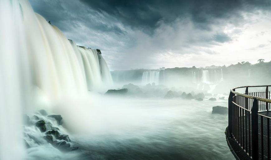 Garganta do Diablo, Foz do Iguaçu, Parque Nacional do Iguaçu, Brazil