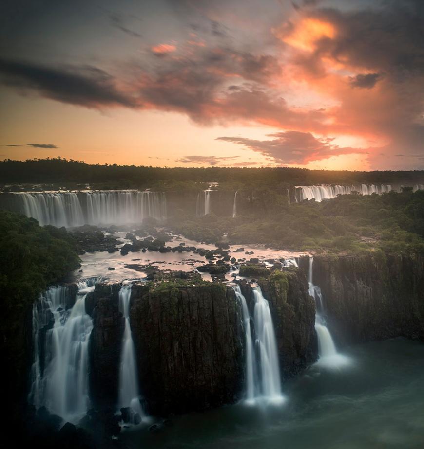 View from 'Trilha das Cataratas', Foz do Iguaçu, Parque Nacional do Iguaçu, Brazil