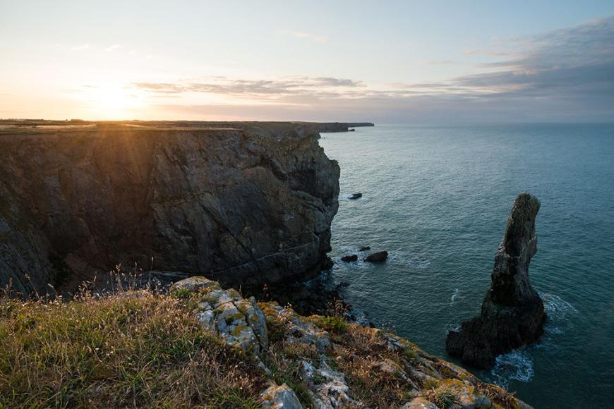 Elegug Stacks, Pembrokeshire Coast National Park, Wales, UK