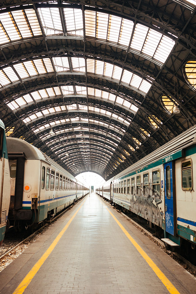 Milan Central Station, Milan, Lombardy, Italy