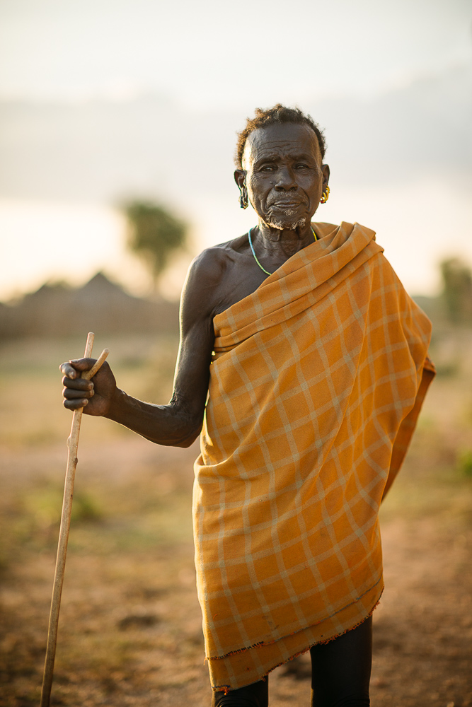 Portrait of Ayke Bito, Hamar Tribe, Omo Valley, Ethiopia