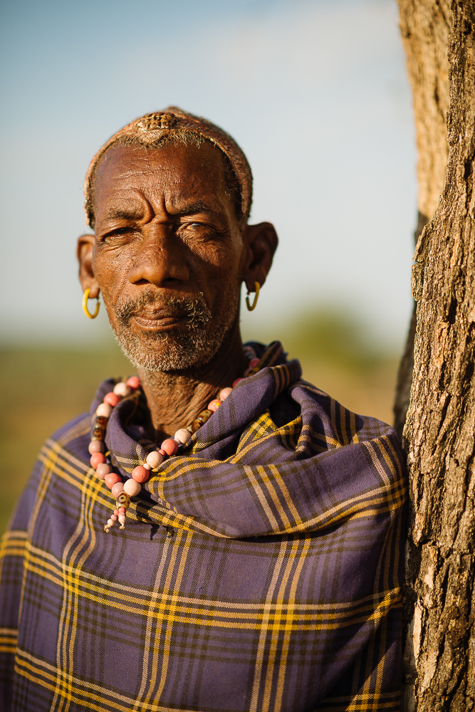 Portrait of Suma, Hamar Tribe, Omo Valley, Ethiopia