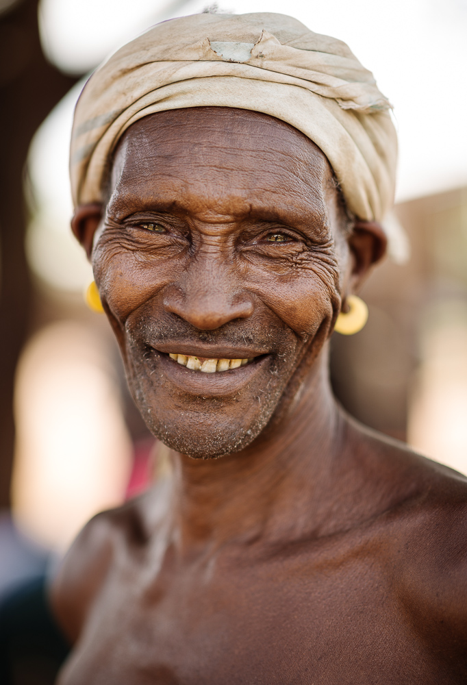 Portrait of Gayto, Adulba Market, Omo Valley, Ethiopia