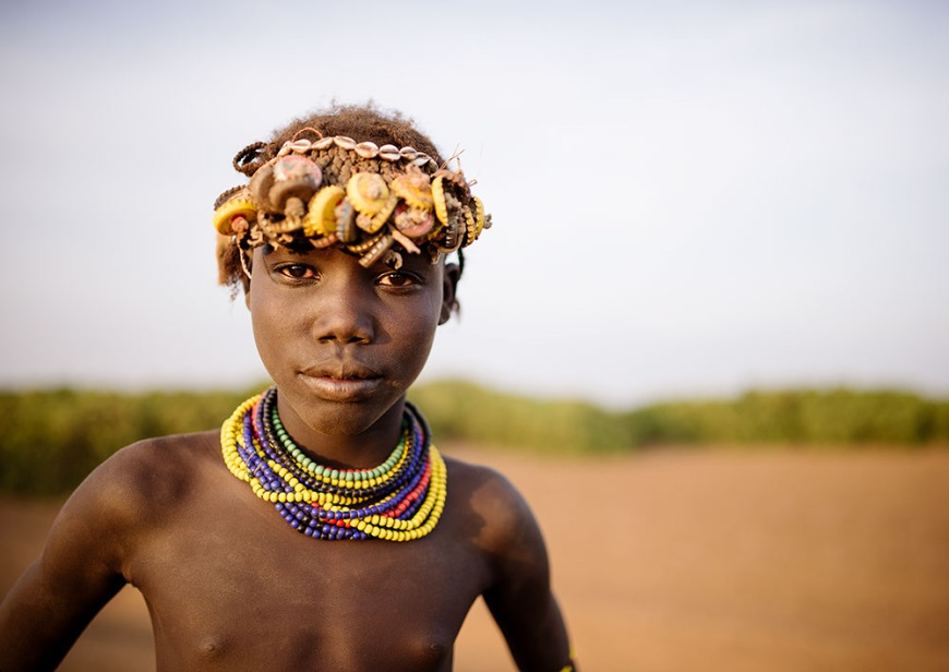 Dassanech Tribe, Rate Village, Omorate, Omo Valley, Ethiopia