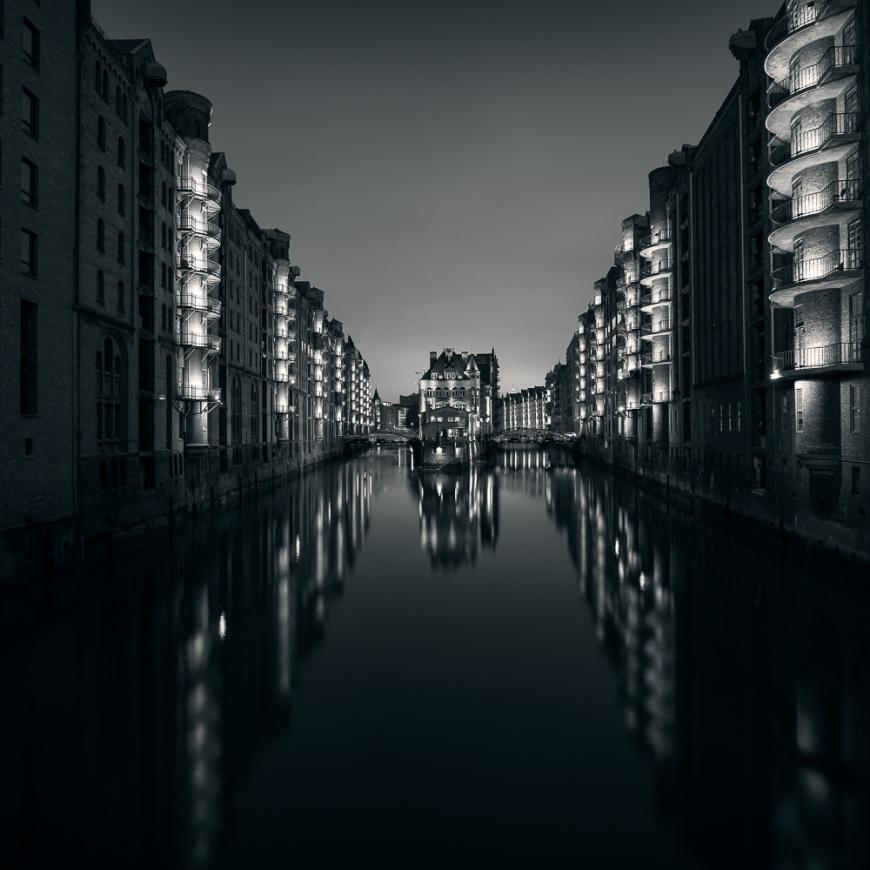Speicherstadt District , Hafencity , Hamburg, Germany