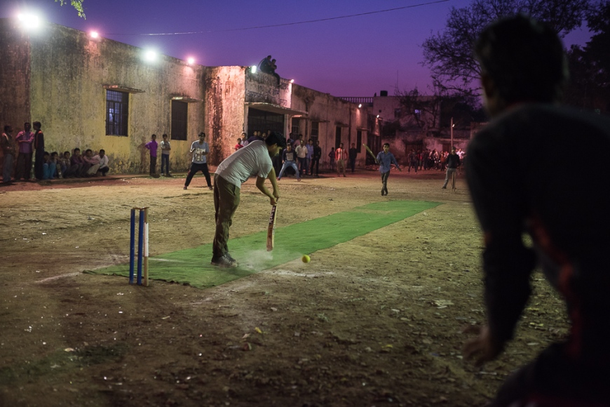 Cricket Match, Agra, Uttar Pradesh, India