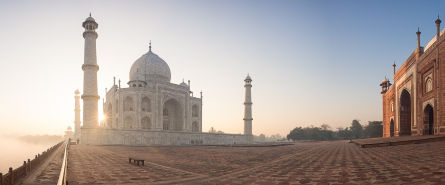 Dawn at The Taj Mahal, Agra, Uttar Pradesh, India